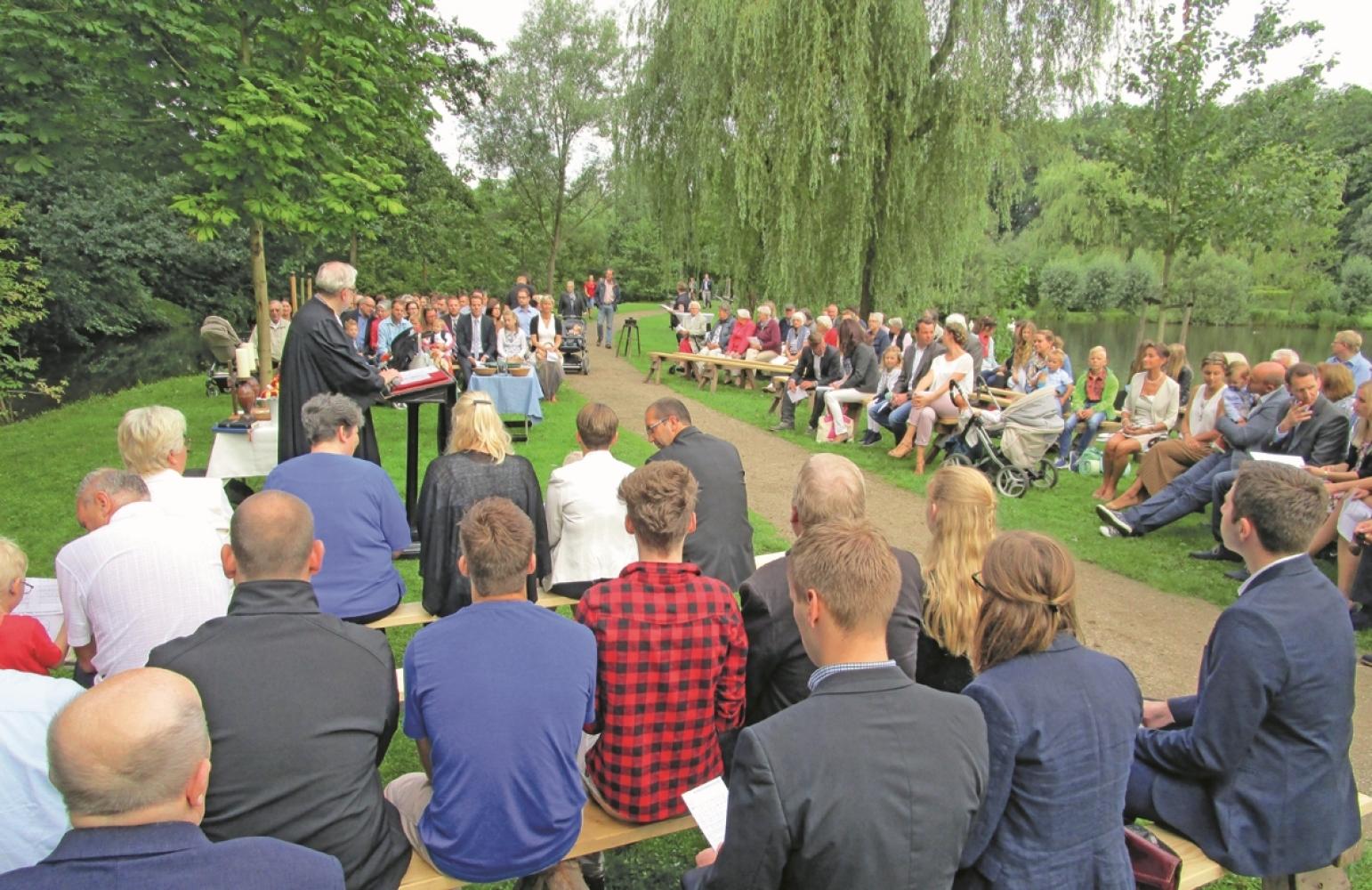 Taufgottesdienst An Der Böhme Heidekreis Walsroder Zeitung