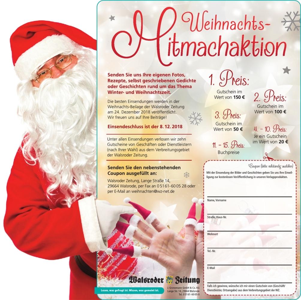 """Als Leser an der """"Weihnachts-WZ"""" mitwirken - Walsrode - Walsroder ..."""